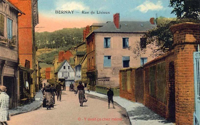 Bernay - Rue Gaston Folloppe (35)