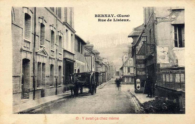 Bernay - Rue Gaston Folloppe (38)