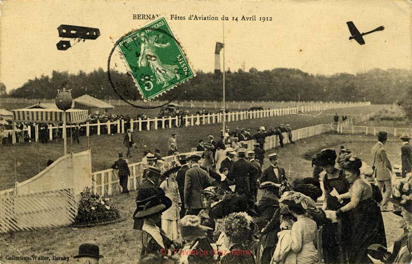Bernay - L'hippodrome - Fêtes d'Aviation