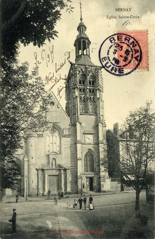 L'église Sainte-Croix
