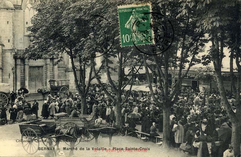 Bernay - Place Sainte-Croix