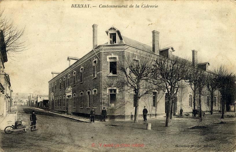 Bernay - Le Cantonnement de la Cidrerie