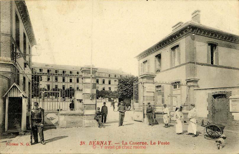 Bernay - La caserne Turreau