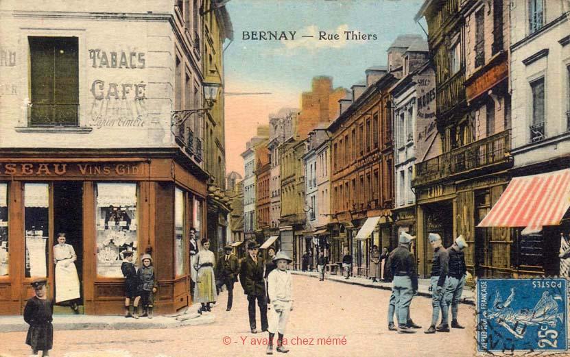 Bernay - Rue Thiers (1)