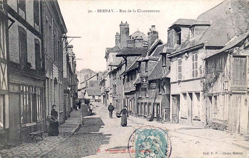Bernay - Rue de la Charentonne (22)