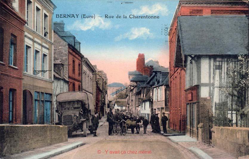 Bernay - Rue de la Charentonne (28)