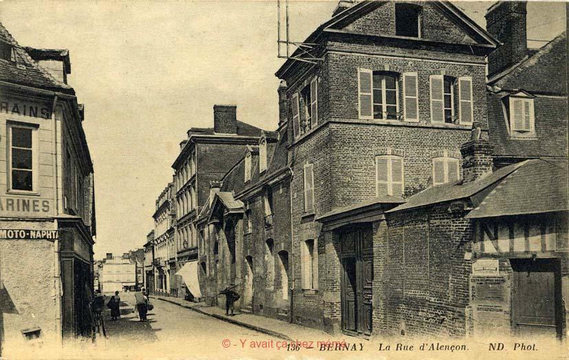 Bernay - Rue du général de Gaulle (2)