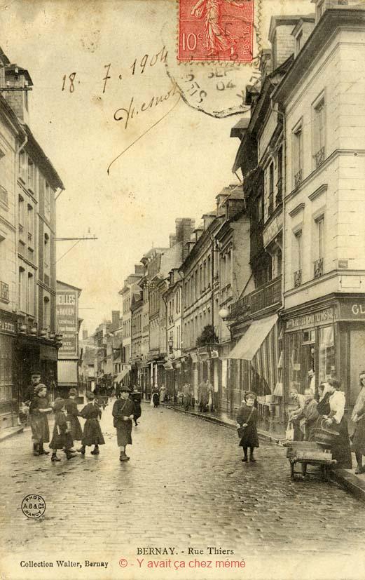 Bernay - Rue Thiers (2)