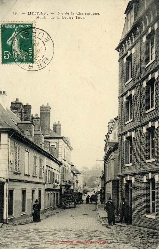 Bernay - Rue de la Charentonne (2)