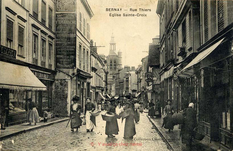 Bernay - Rue Thiers (35)