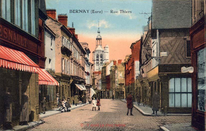 Bernay - Rue Thiers (39)