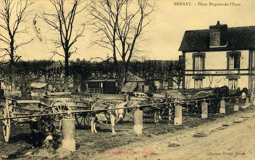 Bernay - Place Dupont de l'Eure