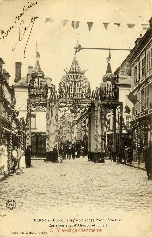 Bernay - Rue du général de Gaulle (54)