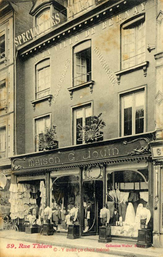 Bernay - Rue Thiers (59)