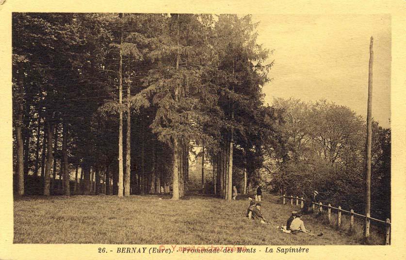 Bernay - Boulevard des Monts