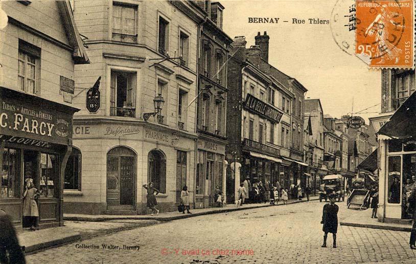 Bernay - Rue Thiers (61)