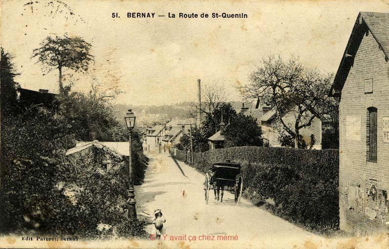 Bernay - Rue Bernard Gombert (63)