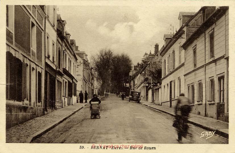 Bernay - Rue de Rouen (8)