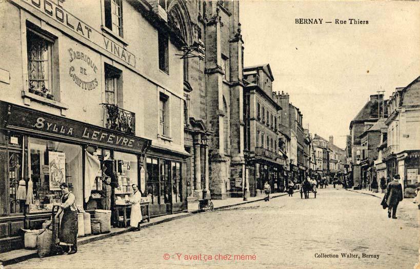 Bernay - Rue Thiers (92)