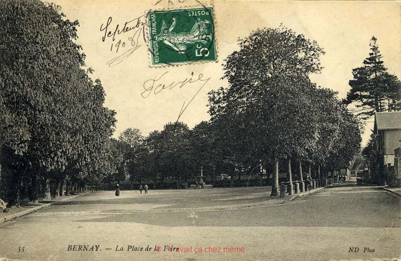 Bernay - Place de Verdun