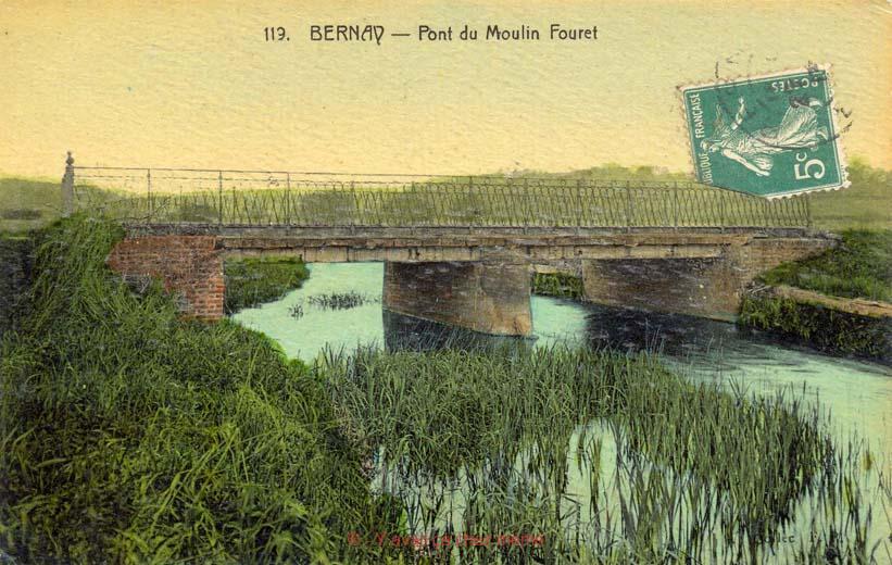 St-Aubin-le-Vertueux - Pont du Moulin Fouret
