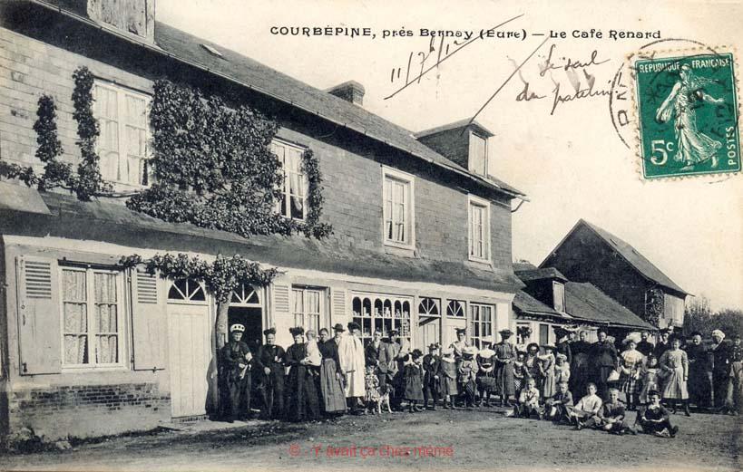 Courbépine - Le café Renard
