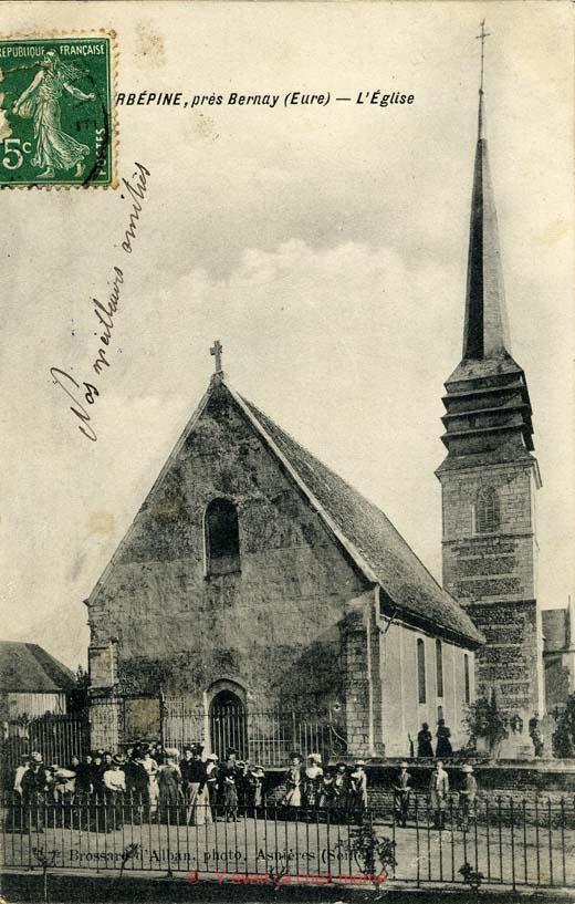 Courbépine - L'église