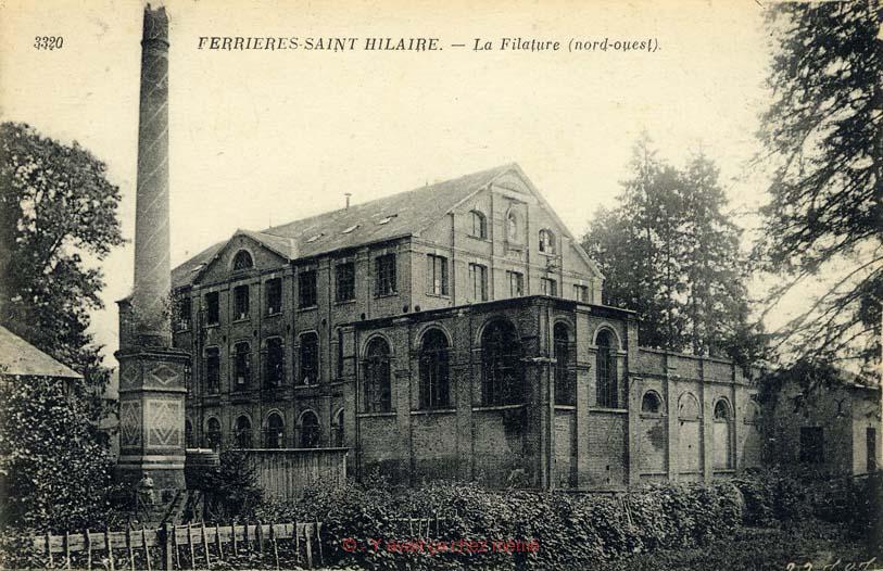Ferrières-St-Hilaire - La filature (nord-ouest)