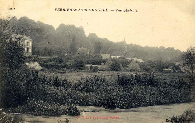 Ferrières-St-Hilaire - Vue générale