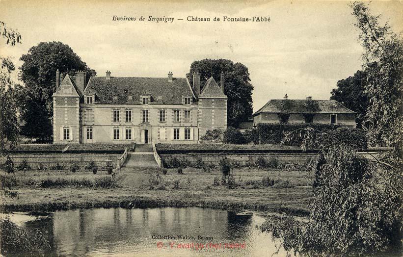 Fontaine-l'Abbé - Château