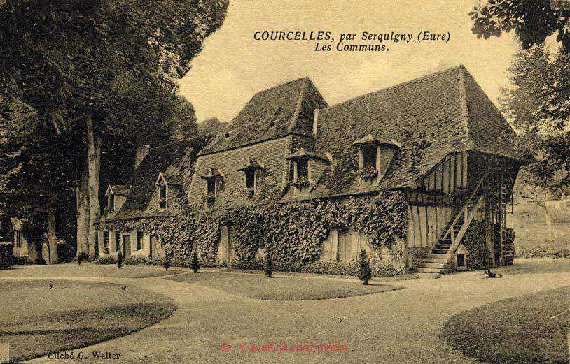 Fontaine-l'Abbé - Château de Courcelles, les communs