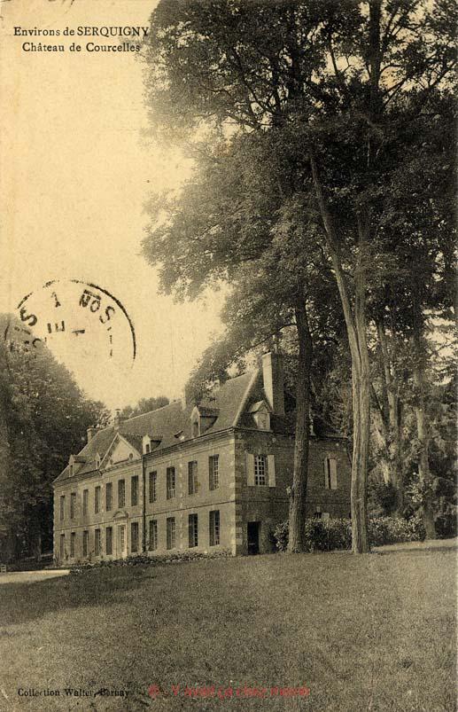 Fontaine-l'Abbé - Château de Courcelles