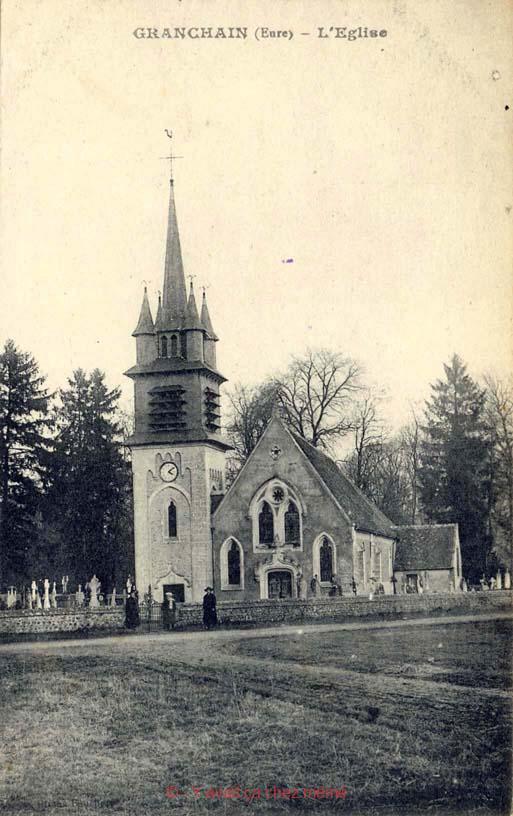 Granchain - L'Église