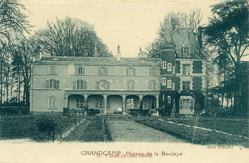 Grand-Camp - Manoir de la Boulaye