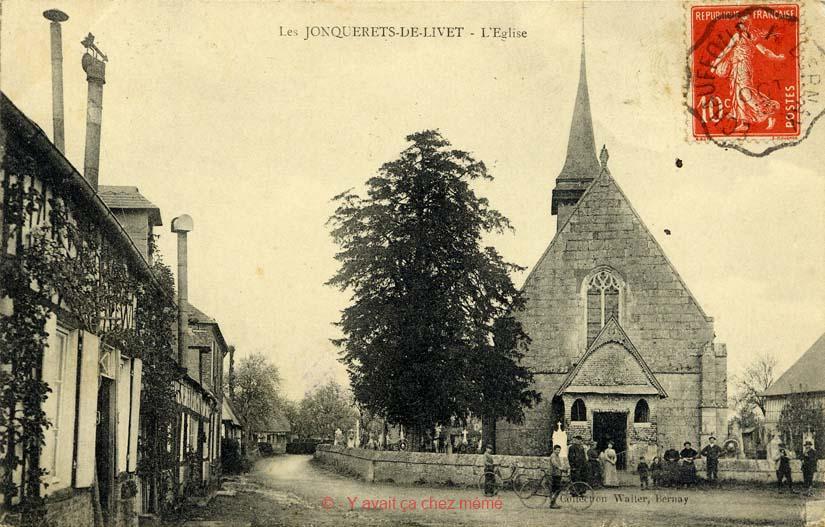 Jonquerets-de-Livet - L'église