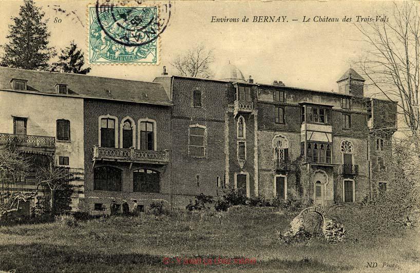 Menneval - Le Château des Trois-Vals