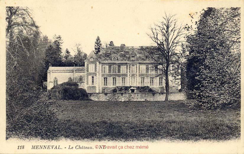 Menneval - Le Château