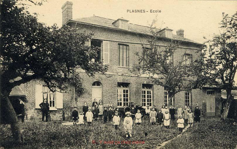 Plasnes - École