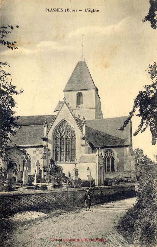 Plasnes - L'église