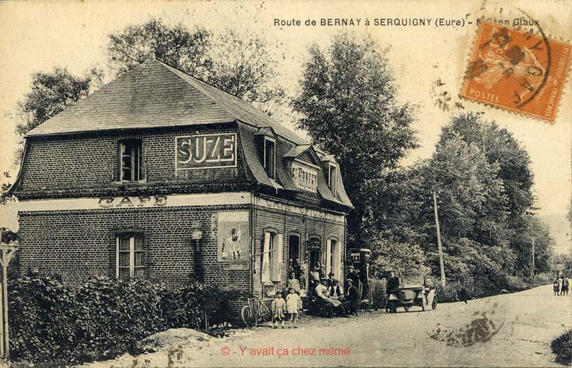 Serquigny - Maison Glaux