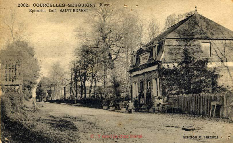 Serquigny - Epicerie Café Saint-Ernest
