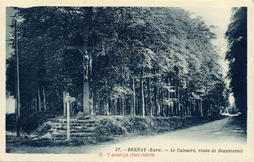 St-Aubin-le-Vertueux - Le calvaire