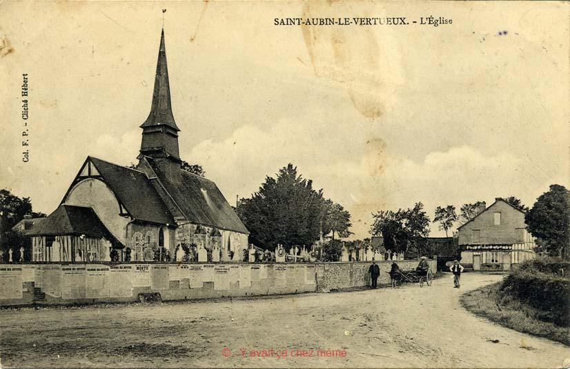St-Aubin-le-Vertueux - L'église