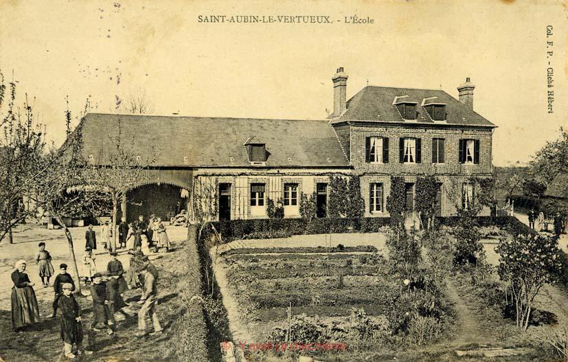 St-Aubin-le-Vertueux - L'école