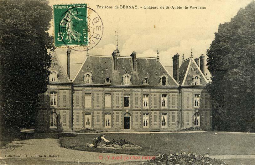 St-Aubin-le-Vertueux - Le château