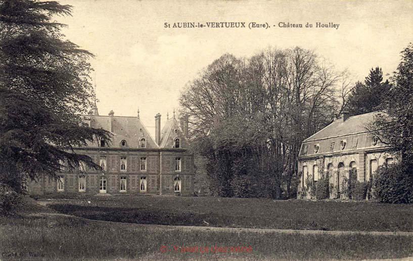 St-Aubin-le-Vertueux - Château du Houlley
