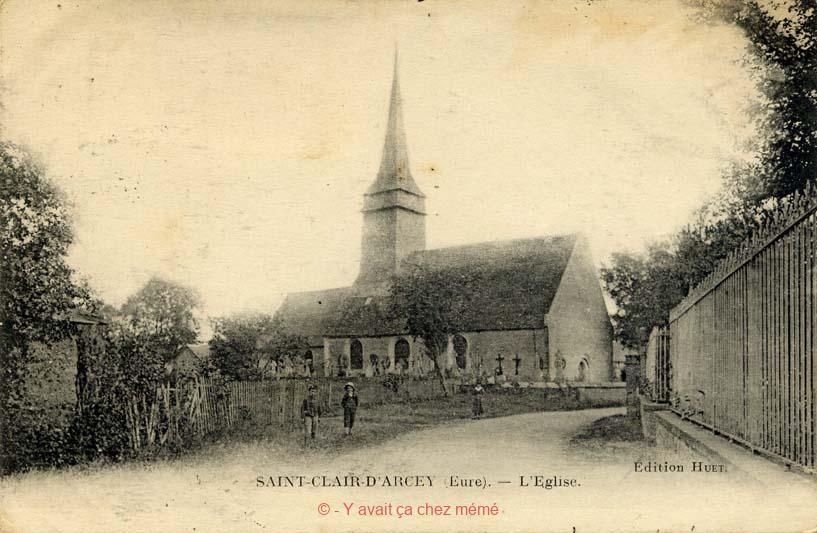 St-Clair-d'Arcey - L'église