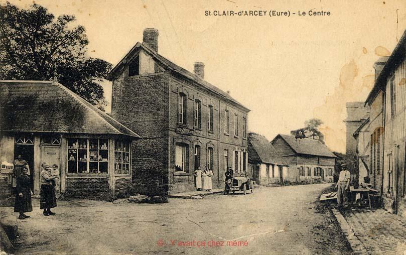 St-Clair-d'Arcey - Le centre