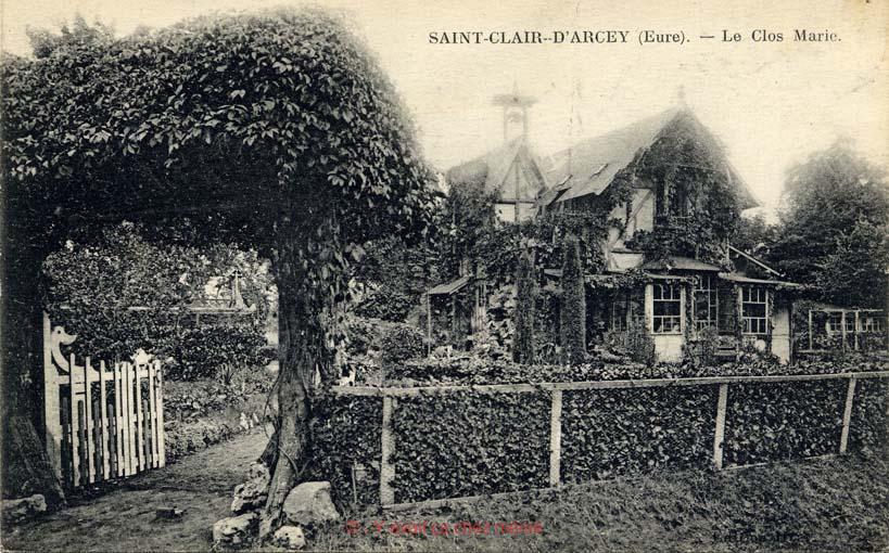 St-Clair-d'Arcey - Le Clos Marie