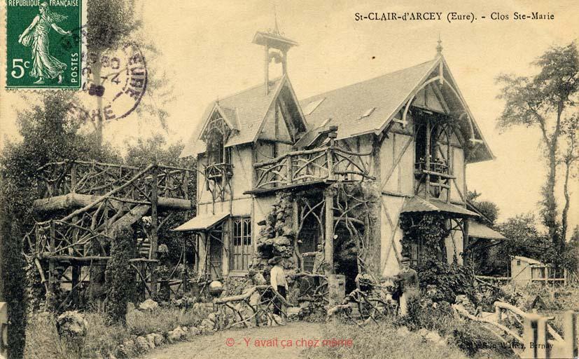 St-Clair-d'Arcey - Clos Sainte-Marie